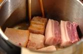 豚のニンニク角煮の作り方1