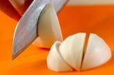 カブの白みそ椀の作り方1