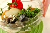シーフードと春野菜のカルトッチョの作り方1