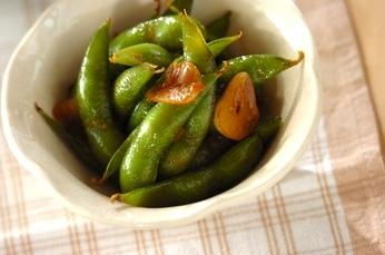 枝豆のガーリックバター