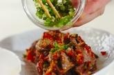砂肝とマッサのガーリック炒めの作り方3