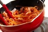 魚介トマトスパゲティーの作り方3