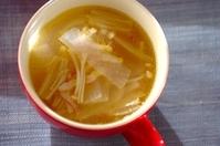 エノキと大根のスープ