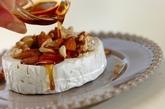 カマンベールのメープルナッツがけの作り方2