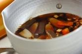 ゴボウとコンニャクの混ぜご飯の作り方2