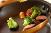 ブロッコリーのカレーチーズ炒めの作り方3
