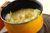 キャベツのミルクスープの作り方2