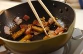 新ゴボウのカルボナーラ風炒めの作り方3