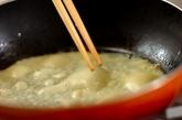 ローストチキンとベビーリーフのクレープの作り方2
