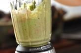 枝豆・小松菜スムージーの作り方1