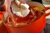 カマンベール鍋の作り方3
