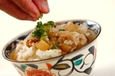 大根とツナの混ぜご飯の作り方3