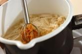 大根とエノキのみそ汁の作り方2