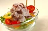 豚しゃぶサラダの作り方2