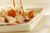 明太子チーズフォンデュの作り方3