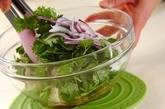 豆腐とアボカドのエスニックサラダの作り方2