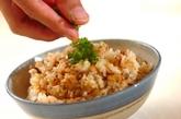 ブリの混ぜご飯の作り方5