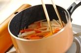 大根とニンジンの炒め煮の作り方1