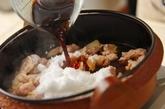 鶏すき焼きの作り方2