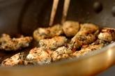 鶏肉とズッキーニのベジパスタの献立の作り方1
