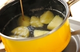 新ジャガイモのコロッケの作り方1