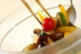 夏野菜マリネの作り方2