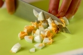 ブロッコリーのタルタルソースサラダの下準備2