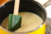かきたまの豆乳コーンスープの作り方1