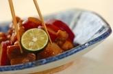 鶏とサツマイモの煮物の作り方4