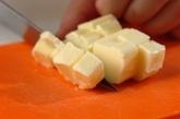 パイナップルのキャラメルお豆腐チーズケーキの作り方1