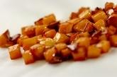 マスカルポーネのカラメルリンゴ添えの作り方1