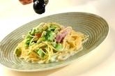 ブロッコリーのクリームスパゲティーの作り方3