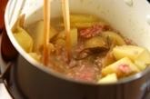新ジャガと刻み昆布のそぼろ煮の作り方2