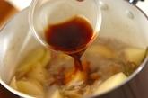 新ジャガと刻み昆布のそぼろ煮の作り方3