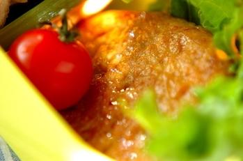 野菜たっぷりヘルシーハンバーグ