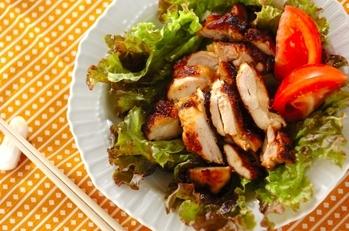 鶏もも肉のきな粉照り焼き