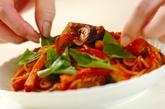 ナスのトマトソースパスタの作り方5