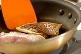 鯛のトマトソースの作り方1