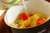 ジャガイモとインゲンの煮物の作り方2