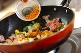 カラフル野菜のカレースティックおにぎりの作り方2