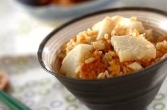 長芋の炊き込みご飯