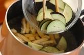 ナスのおみそ汁の作り方1