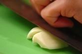 小松菜の塩炒めの作り方1