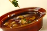 常備菜にぴったり!マッシュルームのニンニクオイル煮の作り方2