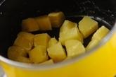 サツマイモのお月見団子の作り方2