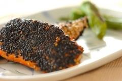 鮭の南部焼き