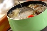 大根と鶏肉のコンソメ煮の作り方2