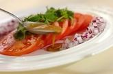 トマトのハニーマスタードサラダの作り方2