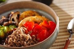 野菜たっぷりビビンバ丼