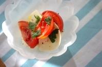 フルーツトマトのカプレーゼ